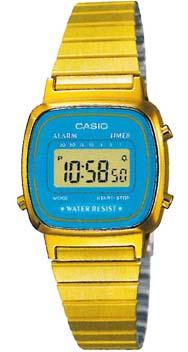 CASIO LA-670WGA-2 Vintage Chrono, Alarm, Timer, wr 30 – LA-670WGA-2 1