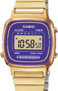 CASIO LA-670WGA-6 Vintage Chrono, Alarm, Timer, wr 30 - LA-670WGA-6