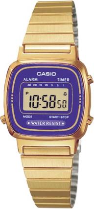 CASIO LA-670WGA-6 Vintage Chrono, Alarm, Timer, wr 30 – LA-670WGA-6 1