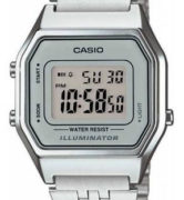 CASIO  LA-680WA-7 Illuminator, Chrono, Alarm, Timer, wr 30  - LA-680WA-7