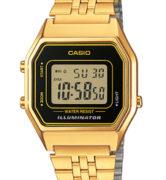 CASIO LA-680WG-1 Illuminator, Chrono, Alarm, Timer, wr 30 - LA-680WG-1