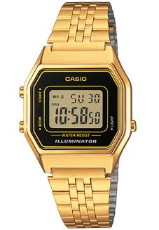 CASIO LA-680WG-1 Illuminator, Chrono, Alarm, Timer, wr 30 – LA-680WG-1 1