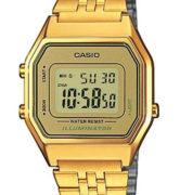CASIO LA-680WG-9 Illuminator, Chrono, Alarm, Timer, wr 30 - LA-680WG-9