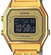 CASIO LA-680WG-1 Illuminator. Chrono. Alarm. Timer. wr 30 - LA-680WGA-9B