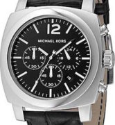 MICHAEL KORS MK8118 S/S Black Dial Chrono - MK8118