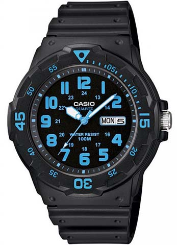 CASIO MRW-200H-2 Date&Day, Dual Time, wr 100 – MRW-200H-2 1