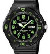 CASIO MRW-200H-3 Date&Day, Dual Time, wr 100 - MRW-200H-3