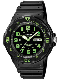 CASIO MRW-200H-3 Date&Day, Dual Time, wr 100 – MRW-200H-3 1