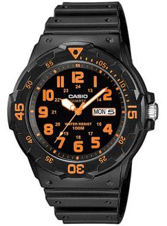 CASIO MRW-200H-4 Date&Day, Dual Time, wr 100 – MRW-200H-4 1