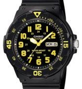 CASIO MRW-200H-9 Date&Day, Dual Time, wr 100 - MRW-200H-9