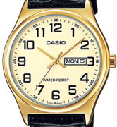 CASIO  MTP-V003GL-9 - DAY AND DATE DISPLAY- 45mm - MTP-V003GL-9