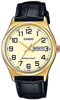 CASIO  MTP-V003GL-9 – DAY AND DATE DISPLAY- 45mm – MTP-V003GL-9 1