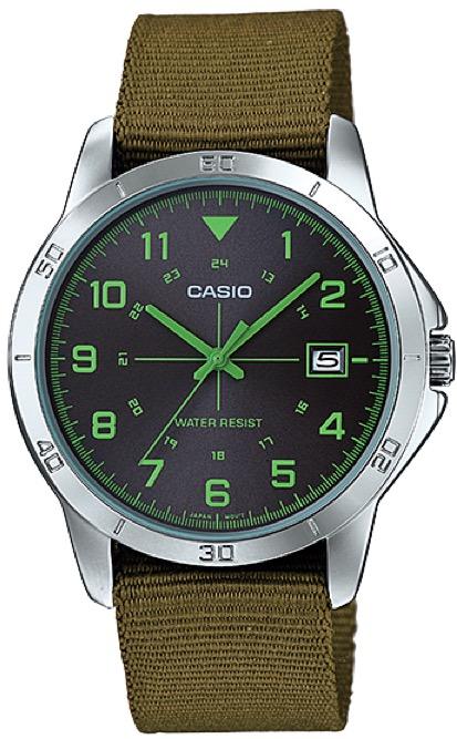 CASIO  MTP-V008B-3 –  Quartz. Date