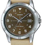 CASIO  MTP-V008B-5 -  Quartz. Date. Nato strap - MTP-V008B-5
