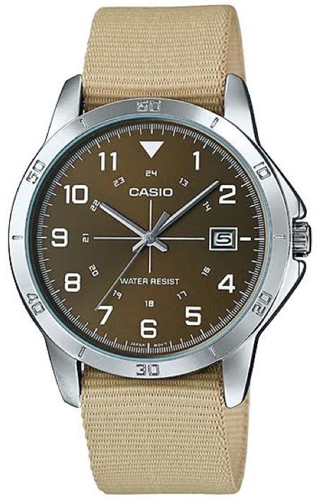 CASIO  MTP-V008B-5 –  Quartz. Date
