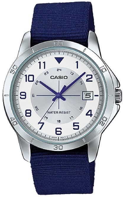 CASIO  MTP-V008B-7 –  Quartz. Date