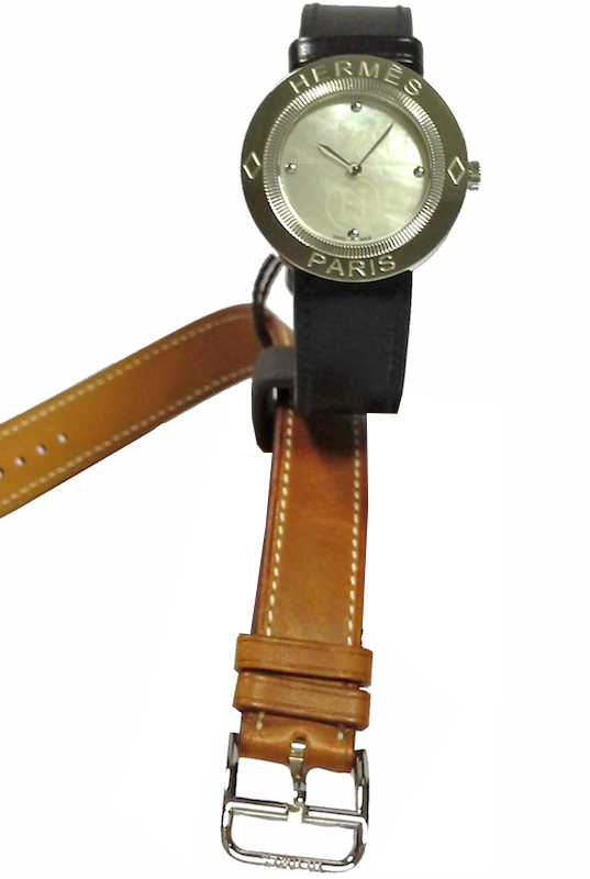 HERMES PASSE-PASSE LADY QUARTZ LEATHER STRAP 26mm – PP1-210-212-G-UBC 1