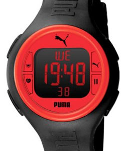 PUMA WATCH PULSE BLACK RED - PU910541002