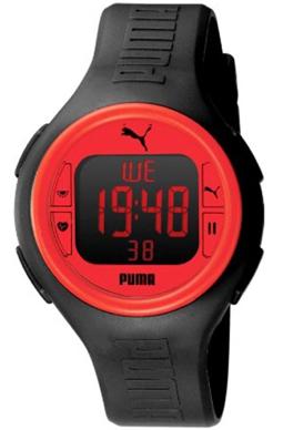 PUMA WATCH PULSE BLACK RED - PU910541002