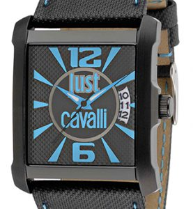 JUST CAVALLI RUDE 3H - Calendar - Black  Strap - R7251119001
