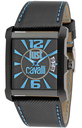 JUST CAVALLI RUDE 3H - Calendar - Black  Strap - R7251119001
