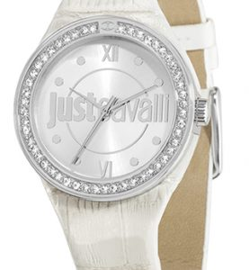 JUST CAVALLI SHADE 3H- Strass- White Strap - R7251201502