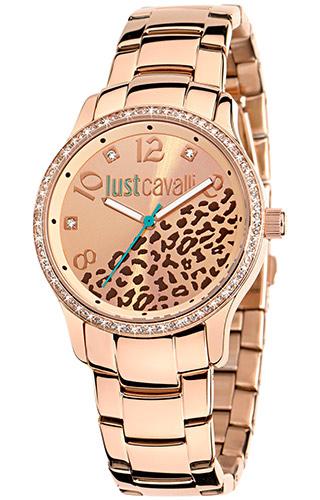 JUST CAVALLI HUGE 3H- Strass- Bracelet Rose Gold Tone - R7253127510