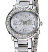 JUST CAVALLI LAC 3H- Strass- Bracelet Silver Tone - R7253186515