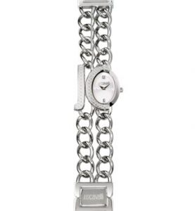 JUST CAVALLI CHAIN 2H- strass - White Dial -Bracelet - R7253193645