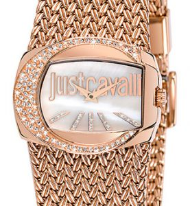 JUST CAVALLI RICH 2H- Strass- Bracelet Rose Gold Tone - R7253277002
