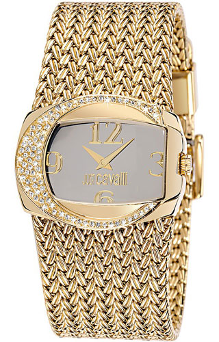JUST CAVALLI RICH 2H- Strass- Bracelet Gold Tone - R7253277515