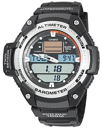 CASIO SGW-400H-1B  Altim, Barom, Therm - SGW-400H-1B