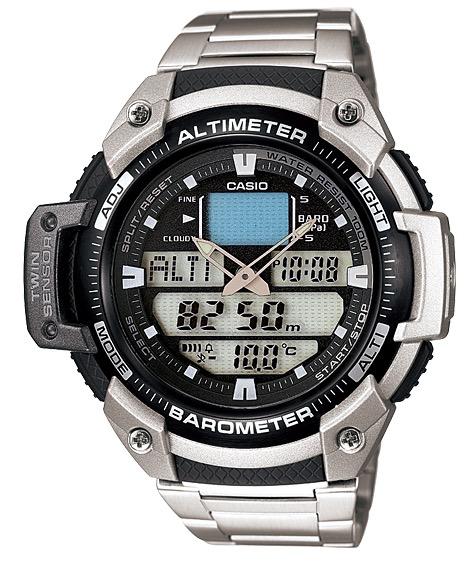 CASIO SGW-400H-1B  Altim. Barom. Therm - SGW-400HD-1B