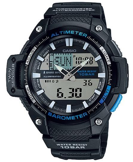 CASIO SGW-450H-1  Altim. Barom. Therm - SGW-450H-1