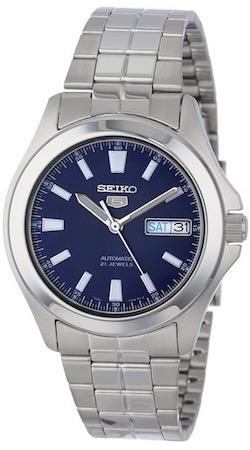 SEIKO5 SNKL07 Automatic Day&date. SS Case &Bracelet Blue Dial 32mm - SNKL07