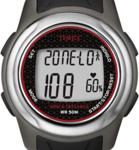 TIMEX FULL SIZE HEALTH TRACKER AND HEART RATE MONITOR - T5K560