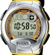 CASIO  W-752-9B Illuminator.2 time zones. Multi alarm. Calendar. Wr100 - W-752-9B