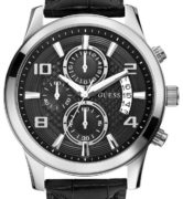 GUESS WATCHES EXEC CHRONO - W0076G1
