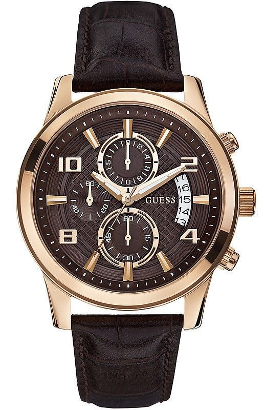 GUESS WATCHES EXEC CHRONO - W0076G4