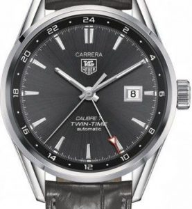 TAG HEUER CARRERA CAL 7 TWIN TIME 41 MM - WAR2012-FC6326