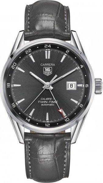 TAG HEUER CARRERA CAL 7 TWIN TIME 41 MM – WAR2012-FC6326 1