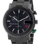 GUCCI WATCH G-CHRONO BLACK PVD GENT - YA101331