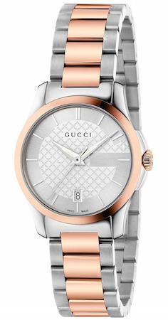 GUCCI WATCH G-TIMELESS SM SILVER - YA126528