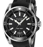 GUCCI WATCH DIVE XL BLACK - YA136204