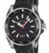 GUCCI WATCH DIVER LG BLACK&RED - YA136303